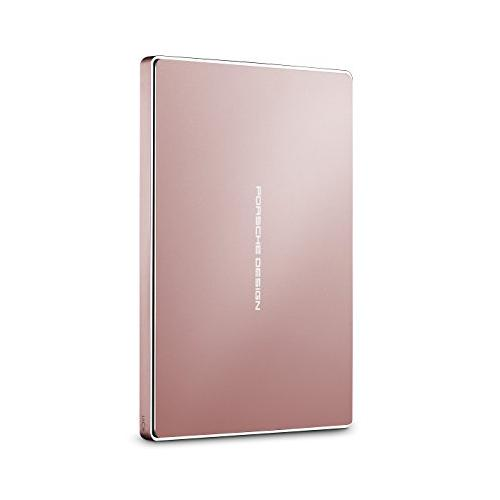 LaCie Porsche Design Mobile Drive 2To Or Rose