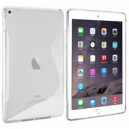 Coque silicone S-line iPad Air 2 Transparent