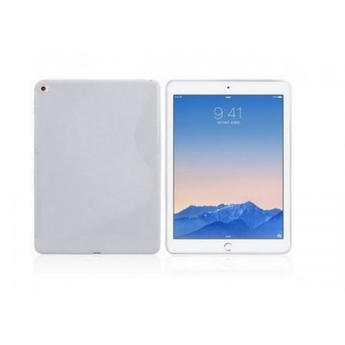 Coque silicone S-line iPad Air 2 Blanc