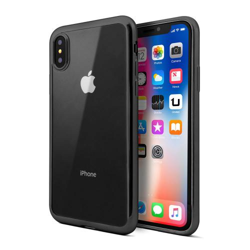 Coque TPU Gel iPhone X Noir