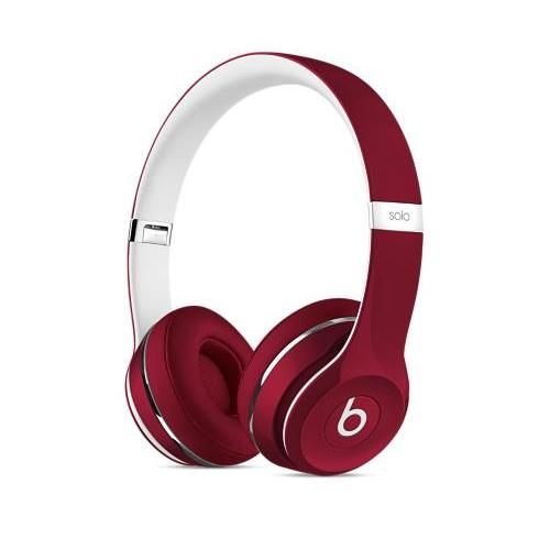 Beats Solo 2 Wired Luxe Edition Rouge
