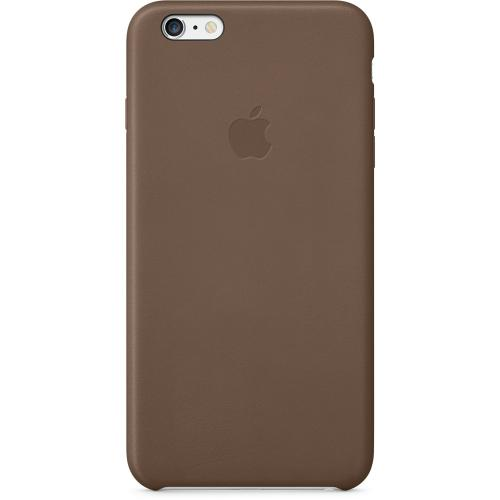 Apple Coque Cuir iPhone 6 Plus et 6S Plus Marron