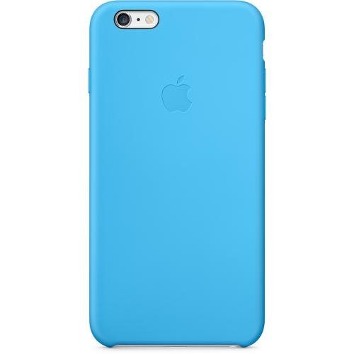Apple Coque Silicone iPhone 6 Plus et 6S Plus Bleu